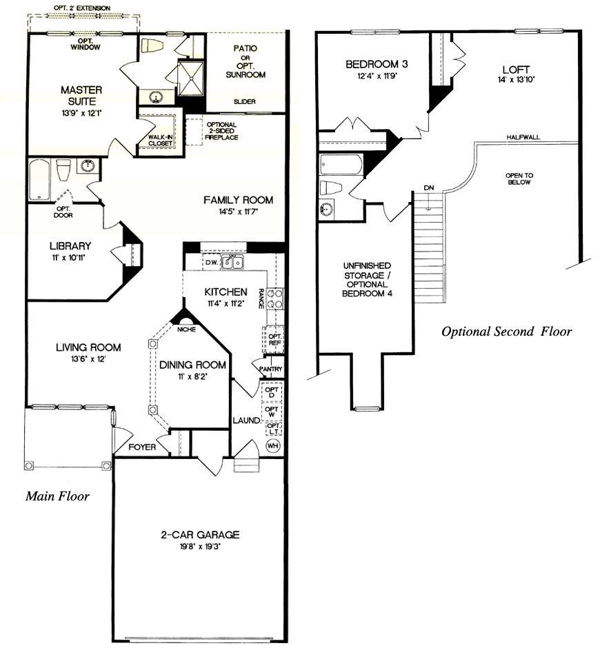 floor plans owl 55 floor plans