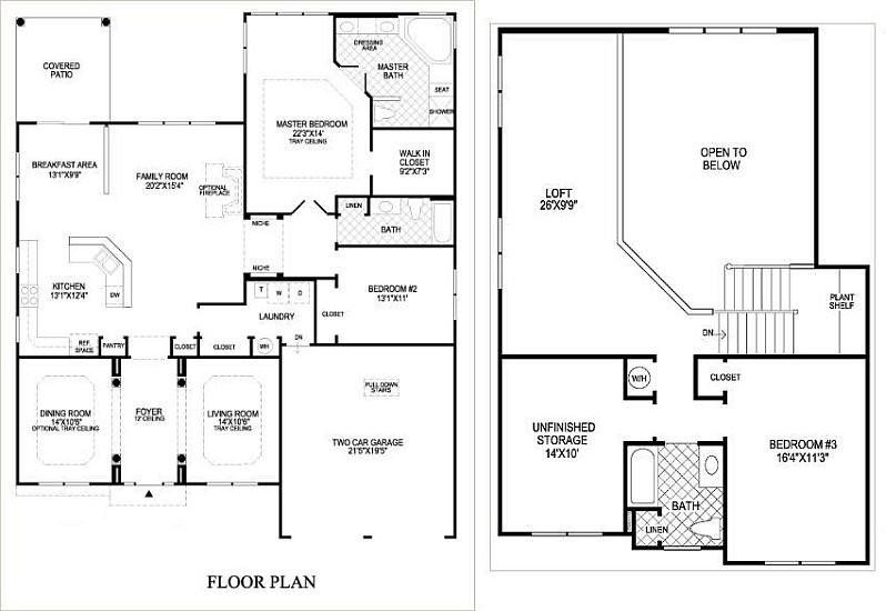 Floor Plans Owl 55