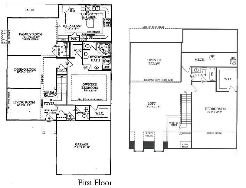 Floor Plans - OWL 55 on centex fresno plans 2009, adams homes floor plans 2010, taylor morrison floor plans 2010, centex 2010 yowell ranch floor plan, centex homes names 2010, centex rosemont floor plans,