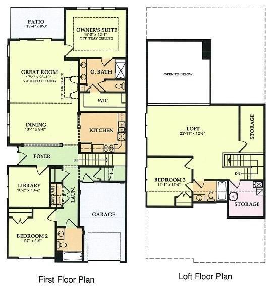 Del Webb Home Plans