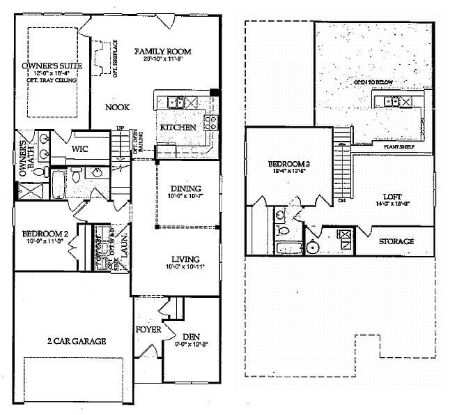 good 2 level floor plans #2: Floor Plans
