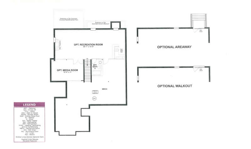 floor plans - Lake Ridge Beazer Homes Floor Plans