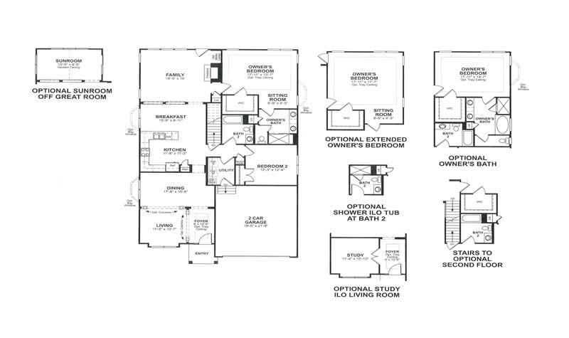 Beazer Homes Aspen Floor Plan